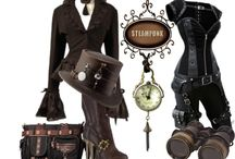 Steampunk Fashion / Prepare your look for the Wee Faerie Village coming this fall.
