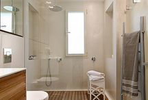 Bathroom inspiration / Shower screens