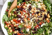 Salads &simple lunch ideas / Easy salads