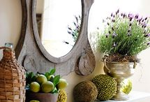 Mantels by Season / Seasonal Mantel Inspiration ~ Hosted by Barb of A Life in Balance (http://www.alifeinbalance.net) / by Barb Hoyer: A Life in Balance