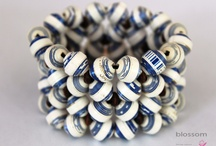 Eco Chic Recycled Paper Beads Jewelry