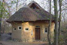 Саманнный дом