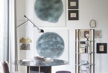 Dream Study Spaces / Inspiration on making art a beautiful feature of your home - study edition