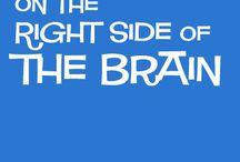 lado direito do cérebro
