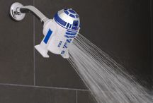 Star Wars™ Shower Heads / Rule your shower with your very own Star Wars™ Darth Vader Handheld Shower Head & Star Wars™ R2-D2 Shower Head. Take the Force with you in the shower and fight away dirt with a shower head that's shaped like your favorite Star Wars character. You can finally experience the shower difference that's out of this galaxy.