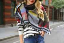 scarf and shawl styling