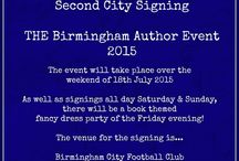 Book Signings / Where I will be to autograph books.
