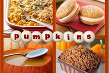 Pumpkin Recipes / by Sharon Brown