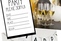 New Years Crafts & Decor / This board is great if you are looking for inspiration on all things to ring in a new year! Find great DIY projects, fun decor inspiration to spruce up your home, and fun party ideas!