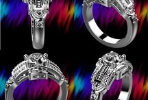 3D Gallery / This is a wonderful gallery of jewelry shown in 3D.