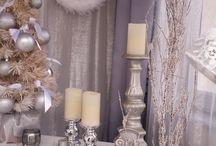 Kandallós dekorok / A kandalló minden térben az otthon érzetét kelti. Lehet esküvő, céges rendezvény, karácsonyi kirakat, a színeket és a kiegészítőket szabadon változtathatod.