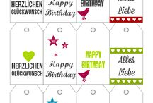 Printable paper tags