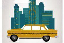 new york / by mon bazar organisé