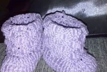 Sapatinhos 2ª criação / Croche baby