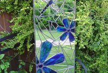 Glass - tilles -  Graffiti - mosaic