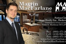 Markham Real Estate / Everything to do with Markham real estate and Markham real estate agent Martin MacFarlane. #realtors #Cornell #Unionville #Stouffville #homes #houses #mls