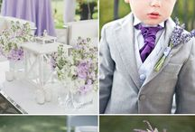 Purple/lavender Wedding scheme