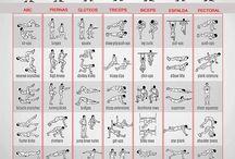 Tonificación y desarrollo muscular / Usa tu peso corporal para tener un cuerpo 10, estos son tus ejercicios en casa