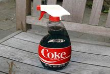 Tips over cola