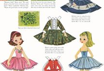Old Fashioned Paper Dolls