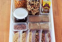 Food - Snacks and Lunches / Easy snack and lunch ideas for the SLP on the go