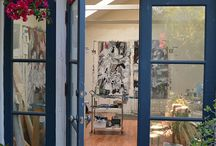 CREATIVEspace / StUdiO IdEaS; My SpAcE to CrEaTe / by Vicki @More Powerful Beyond Measure