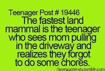 teenage life.
