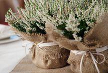 chrzciny - dekoracja stołu
