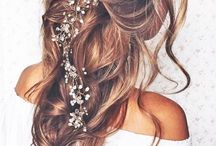 Wedding Ideas: Pretty Wedding Hairstyles