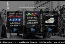 Autoservis. / Autoservis Plzeň zaměření nejen na italské automobily Alfa Romeo Fiat Lancia.