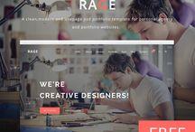 Web Design / Inspirations for Web Design.