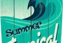 surf shop signs