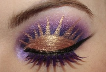 Fotoshoot og halloween makeup