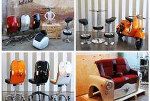 Reciclado / Muebles y objetos reciclados / by Sergio GD