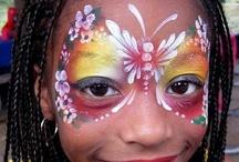 Schmink vlinders