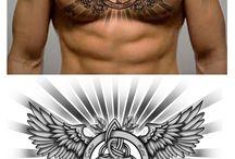 Tatuaj pentru piept
