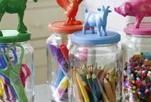 Toy Storage / Inspiring ways to keep the toys and plastic at bay!