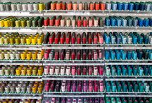 The Beautiful Colors of Thread!