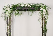 Backdrops, Floral arch and arbours for weddings