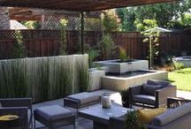 modern patio / by Rachel beck