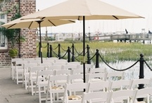 Outdoor I Do's  / Planning on having your wedding outside? The Historic Rice Mill hosts an ideal waterfront ceremony and/or reception. See what others before you have done!