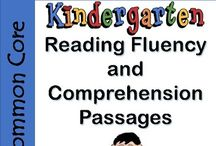 Kindergarten Reading Fluency and Comprehension Passages / Kindergarten Reading Fluency and Comprehension Passages. This reading fluency and comprehension packet uses simple stories and text to develop basic comprehension skills. As students work through this pack, they use evidence from the text to answer a variety of questions.