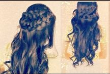 Hair Dos  / How to make fancy hair up