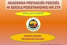 SP 279 Warszawa Akademie Przyjaciół Pszczół