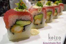 Maki Sushi / Los más deliciosos rollos de sushi los encontraras sólo en Keizo