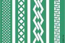 stencil sorminta / stencil sample lines