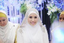 Wedding dress muslimah shar'i