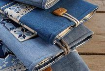 Переработанные джинсы