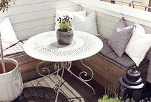 Balkony/ Ogrody