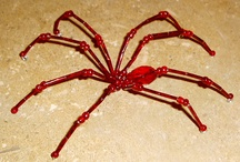 beaded spider / by cristina alfaro